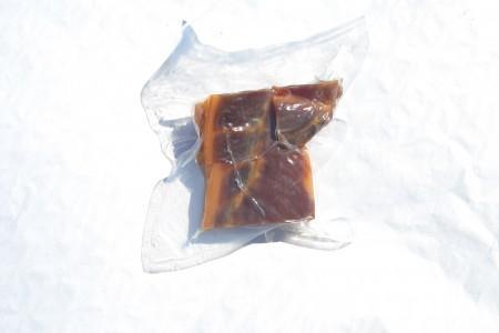Panceta sin hueso envasada